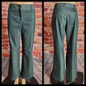 The Limited Gray Pinstriped Pants Size 6